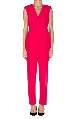 KAOS Jumpsuit with cross neckline
