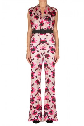 KAOS Floral palace suit and belt