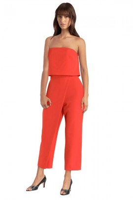 GUESS Palazzo jumpsuit and bandeau top