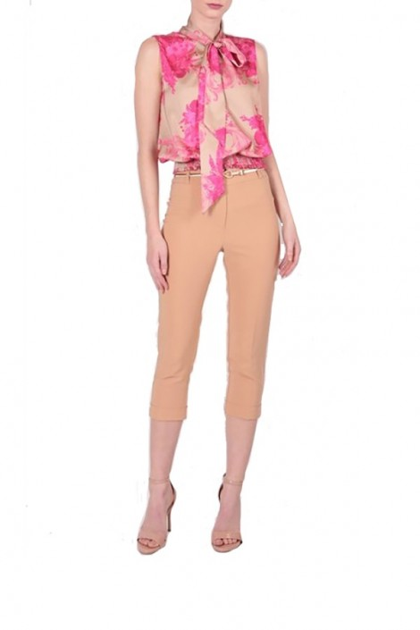RENAISSANCE Short trousers and gold strap