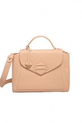 SILVIAN HEACH Satchel bag in eco-leather - ROSA CIPRIA
