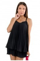 GUESS Plissee Volant Tank Top