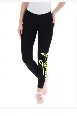 PYREX Leggings logo fluo