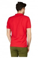SUN 68 Polo shirt with pocket and flowers undercollar