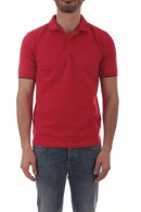 SUN 68 Basic polo shirt with contrasting piping