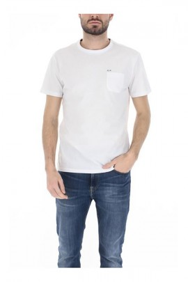 SUN 68 T-shirt with pocket