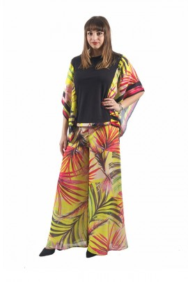 GUESS Florale Palazzo-Hose