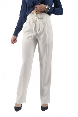 KOCCA High waist trousers with drawstring