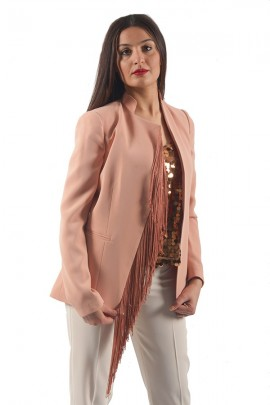 KOCCA Jacket with fringes
