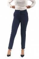 RENAISSANCE Skinny trousers with elastic