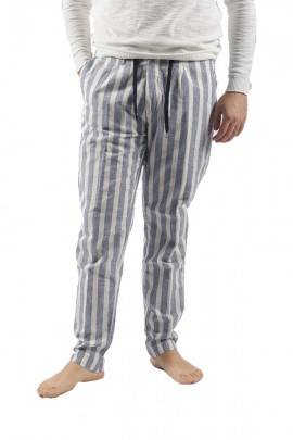 ANTONY MORATO Striped and culisse trousers