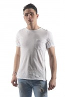 FIFTY FOUR Pocket t-shirt and crew neck