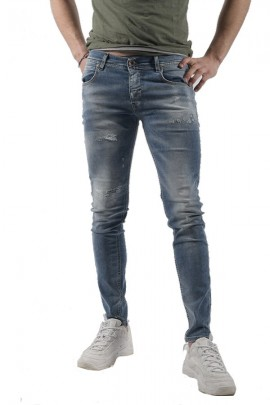 FIFTY FOUR Jeans super skinny strappato