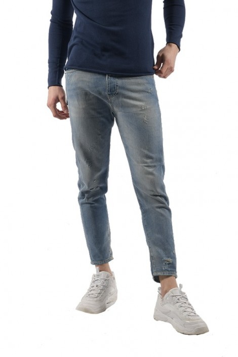 FIFTY FOUR Comfort sandblasted jeans