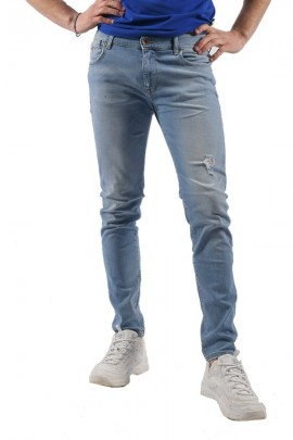 FIFTY FOUR Light skinny jeans
