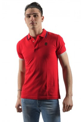 REFRIGIWEAR Polo shirt with contrasts