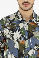 IMPERIAL Floral shirt in viscose