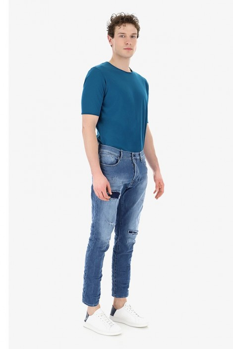 IMPERIAL Jeans ripped at the ankle