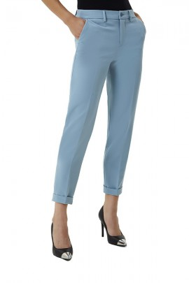 LIU JO Chino trousers with pocket stras