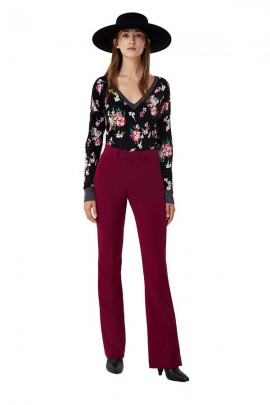 LIU JO Flared chino trousers