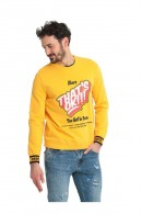 GUESS Crewneck sweatshirt with print