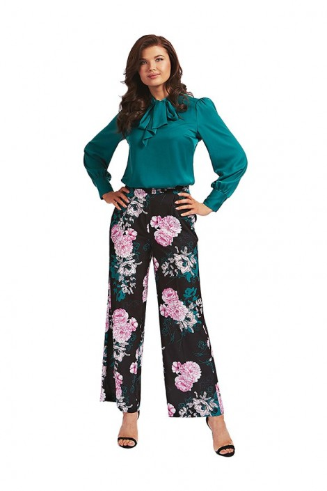 GUESS Floral palazzo trousers