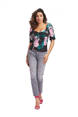 GUESS Blusa floral