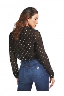 GUESS Polka dot patterned shirt