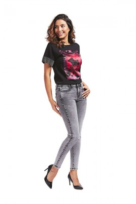 GUESS Short sleeve t-shirt and print