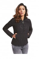GUESS Micrologated quilted jacket
