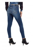 GUESS Jeans super skinny e strass tasca posteriore