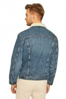 LEVIS Denim jacket and inner fur
