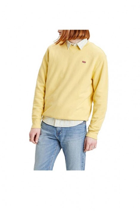 LEVIS Crewneck sweatshirt and micrologist