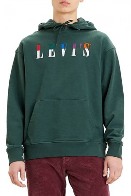 LEVIS Hooded sweatshirt with embroidery logo