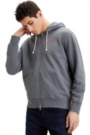 LEVIS Sweatshirt with zip and hood