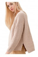 FRACOMINA Over laminated sweater