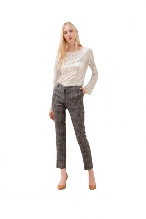 FRACOMINA Checked trousers