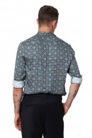 IMPERIAL Long sleeve patterned shirt