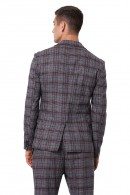 IMPERIAL Check pattern jacket