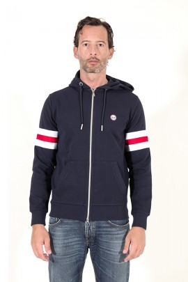 SUN 68 Sweatshirt with zip and hood