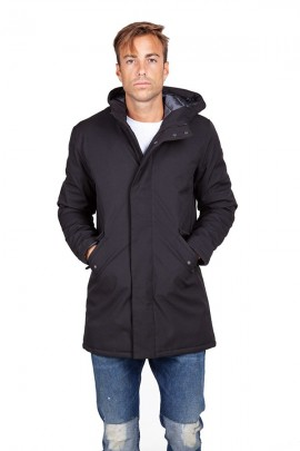 CENSURED Lange Jacke mit Kapuze