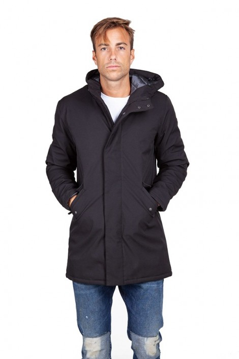 CENSURED Long jacket with hood