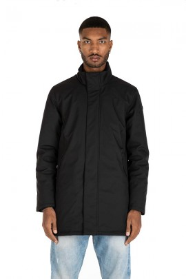 CENSURED Long technical fabric jacket