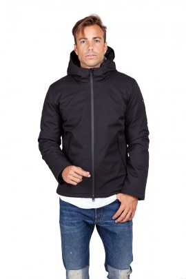 CENSURED Technical jacket with hood - ROSSO