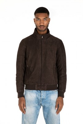 CENSURED Wildleder Kunstlederjacke