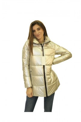 CENSURED Silver quilted jacket