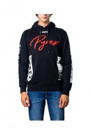 PYREX Logo sweatshirt closed with hood