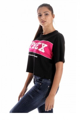 PYREX Short t-shirt with band and logo
