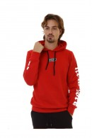 PYREX Closed sweatshirt with hood and back logo