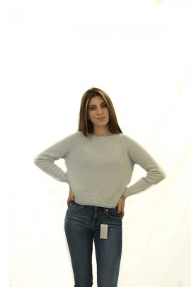 KOCCA Sweater with lurex border